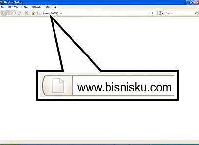 cara buka web salah